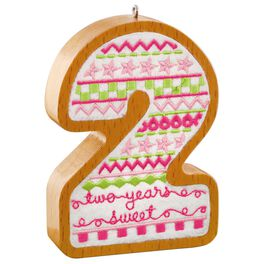 2 Years Old Ornament, , large