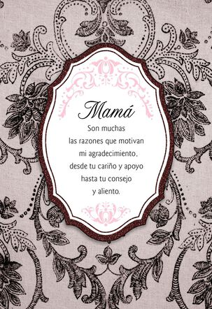 So Many Reasons Spanish-Language Mother's Day Card