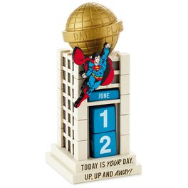 SUPERMAN™ Daily Planet Perpetual Calendar, , large