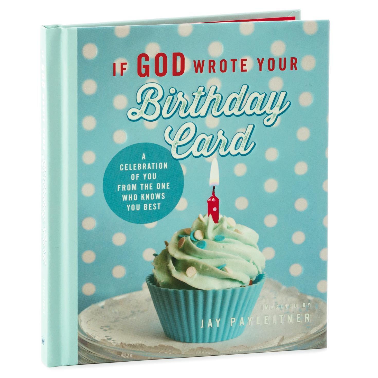 If God Wrote Your Birthday Card Gift Book Religious Books Hallmark – Birthday Card Book