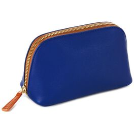 Mark & Hall Navy Cosmetic Case, , large