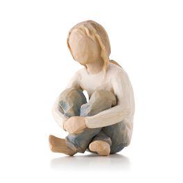 Willow Tree® Spirited Child Figurine, , large