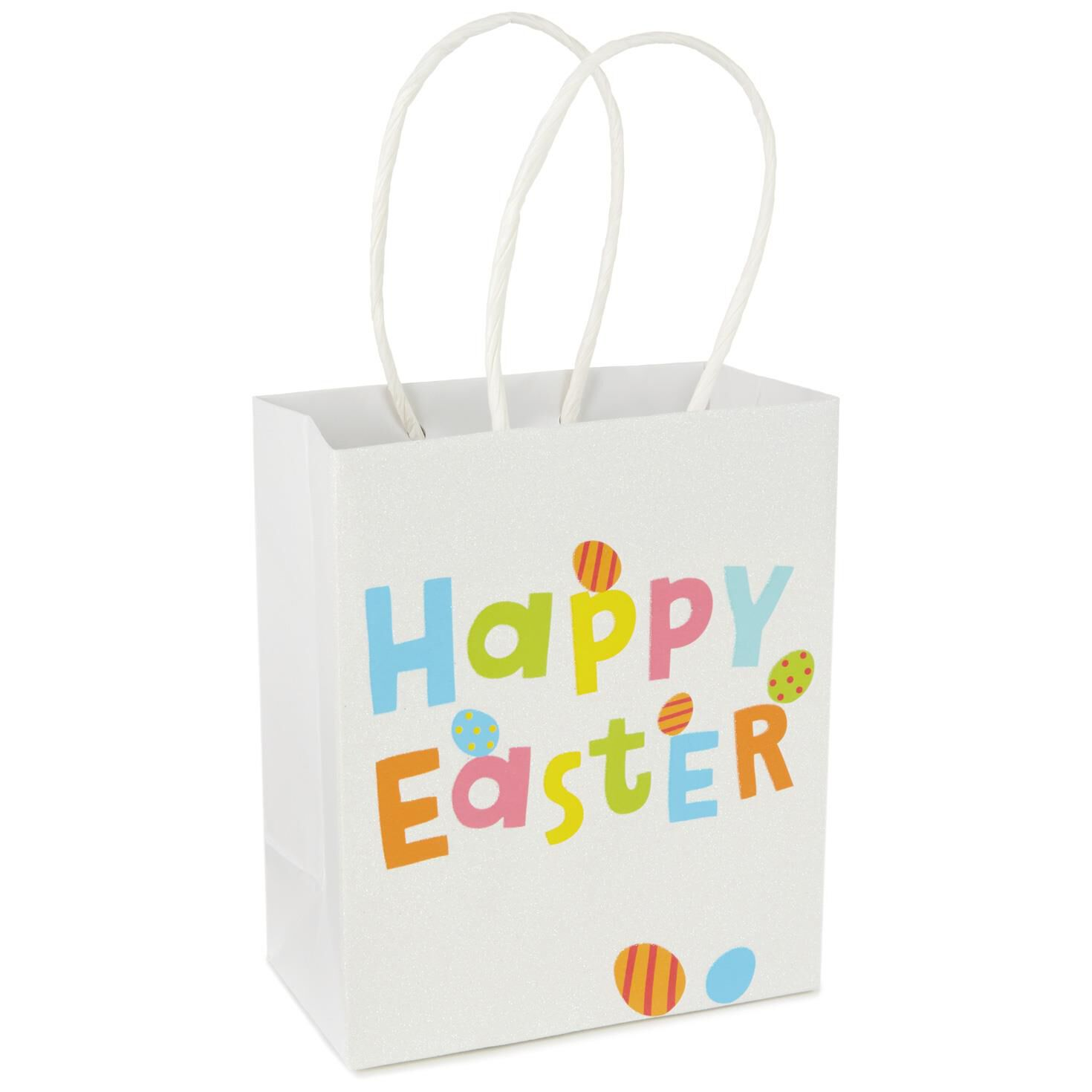 Happy easter small gift bag 775 gift bags hallmark negle Images