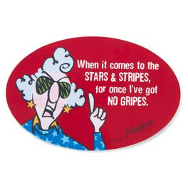 Stars and Stripes Maxine Magnet, , large