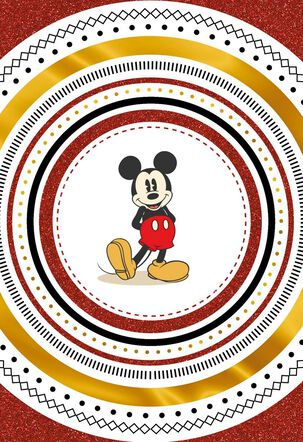 Mickey Mouse Whole Lot of Good Stuff Thank You Card