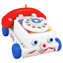 Fisher-Price™ Tiny Chatter Telephone Mini Ornament, , large