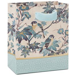 "Birds and Branches Small Gift Bag, 6.5"", , large"