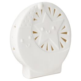 Moon and Stars Porcelain Night-Light, , large
