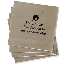 Sorry, Stress Beverage Napkins, Pack of 20, , large