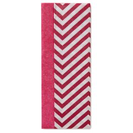 Boysenberry and Chevron Dual-Pack Tissue Paper, , large