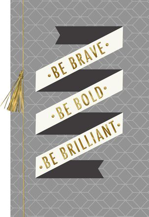 Be Brilliant Graduation Card