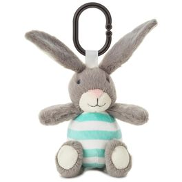 Bunny Stuffed Animal Car Seat and Stroller Toy, , large
