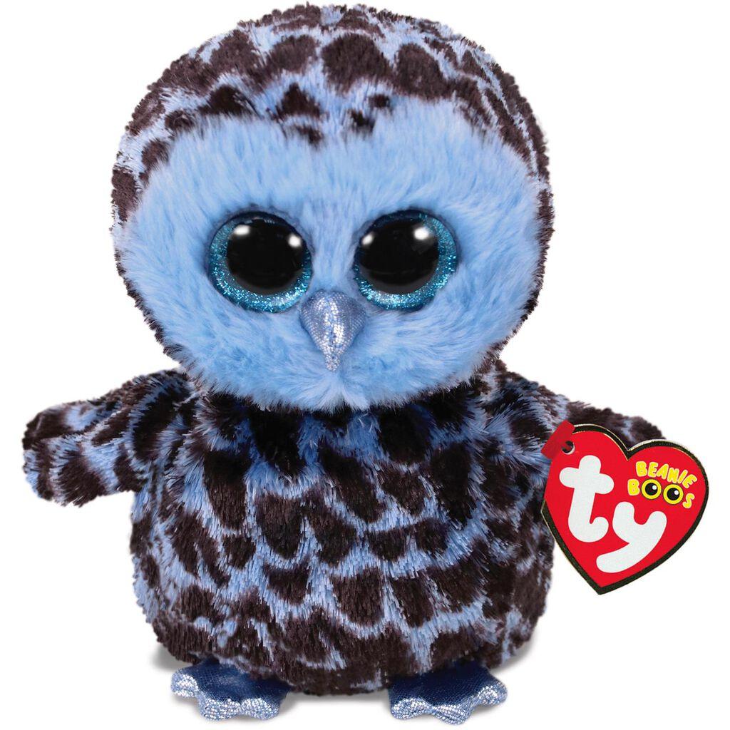 Ty Beanie Boos Small Yago Blue Owl Stuffed Animal 6 Classic