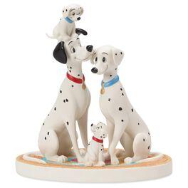 Precious Moments® 101 Dalmatians Pongo and Perdita Figurine, , large