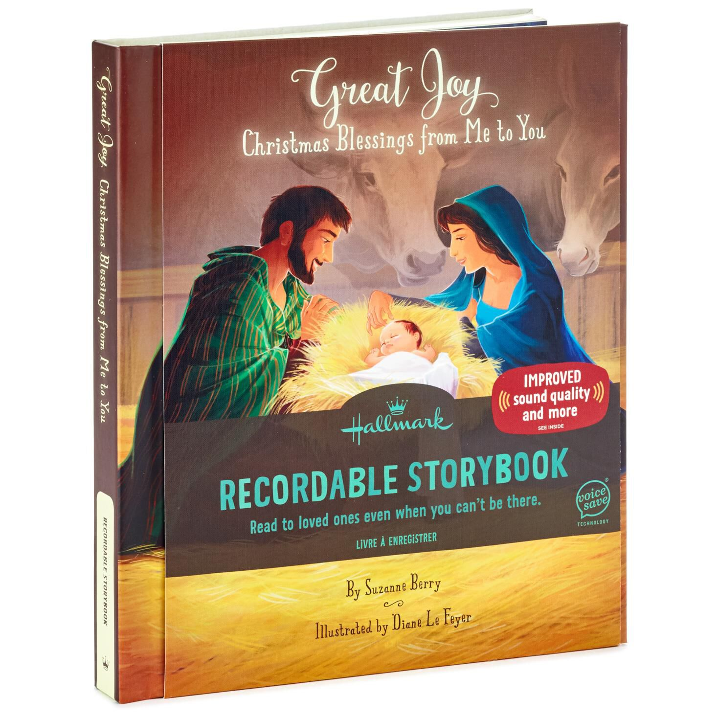 Great Joy: A Book of Christmas Blessings Recordable Storybook ...