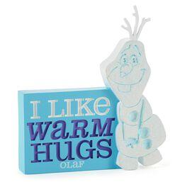 Disney Frozen Olaf Silhouette Figurine, , large