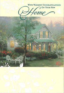 Cozy Home Housewarming Congratulations Card,