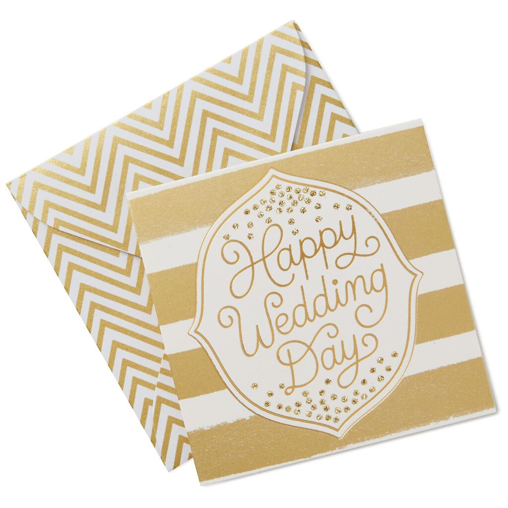 Happy Wedding Day Gift Tag With Envelope - Seals and Gift Tags ...