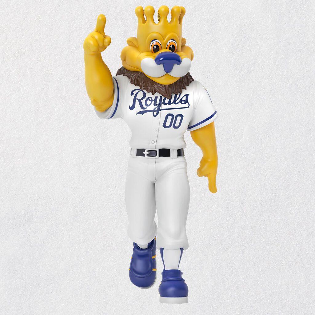 Kansas City Royals™ Raised Royal™ Mascot Sluggerrr™ Ornament ...
