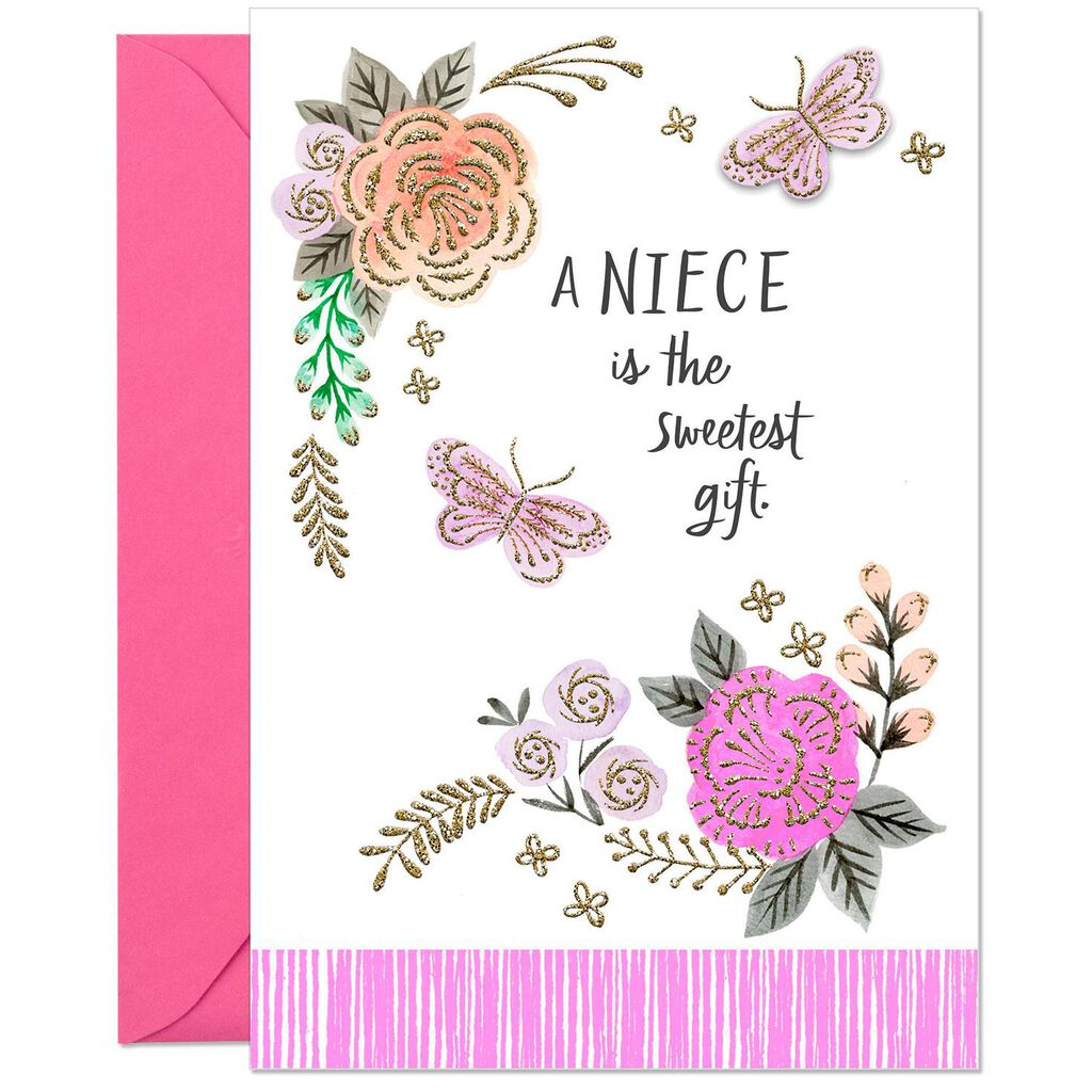 The Sweetest Gift Birthday Card For Niece
