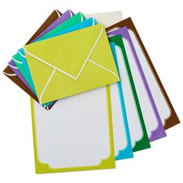 Colorful Stationery, Box of 50, , large
