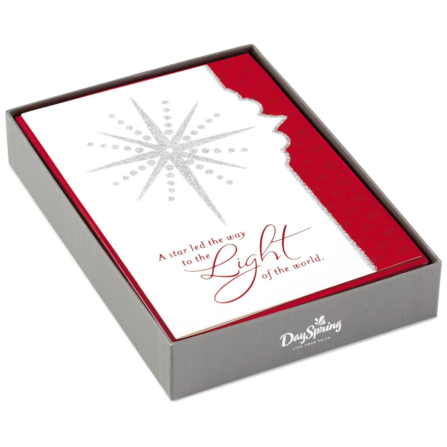 light of the world religious christmas cards box of 16 boxed cards hallmark - Religious Christmas Cards