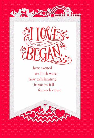 The Story of Us Valentine's Day Card