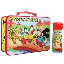 Disney Mickey and Friends Mickey Mouse Lunchbox and Thermos Ornaments, Set of 2, , large