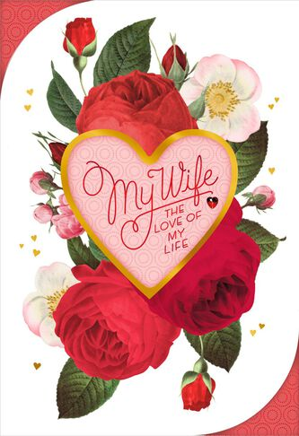 Because of You Valentine\'s Day Card for Wife - Greeting Cards ...