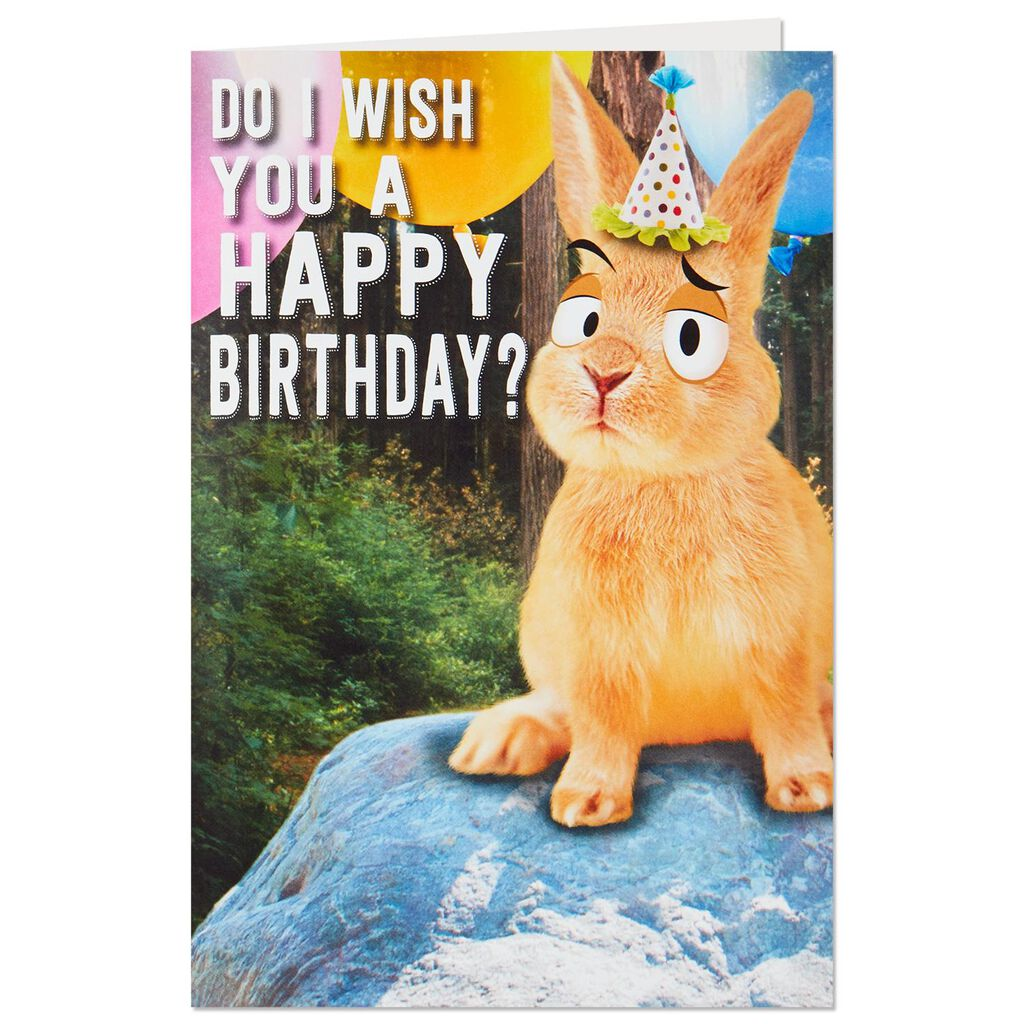 Toots In The Woods Birthday Card With Sound