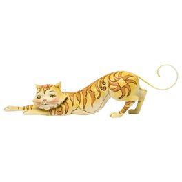 Jim Shore® Tabitha the Stretching Tabby Cat Figurine, , large