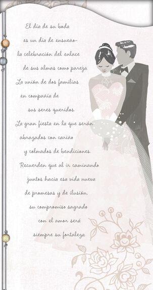 Wish Come True Spanish-Language Wedding Card