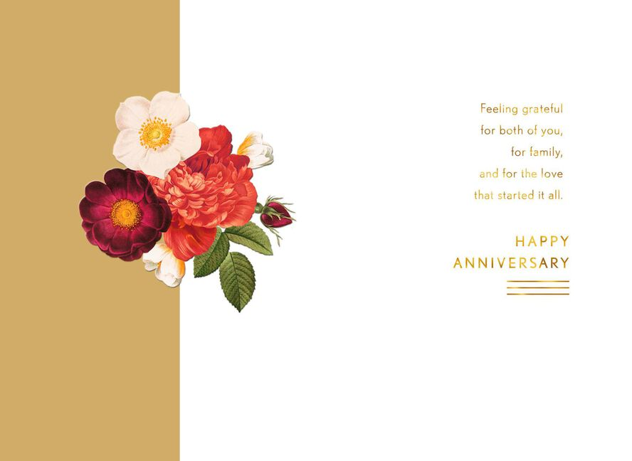 Grateful for you both anniversary card for parents greeting cards grateful for you both anniversary card for parents m4hsunfo