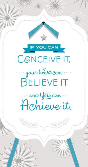 You Can Achieve It Graduation Card