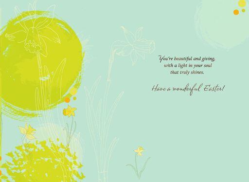 Daffodils Easter Card for Goddaughter,