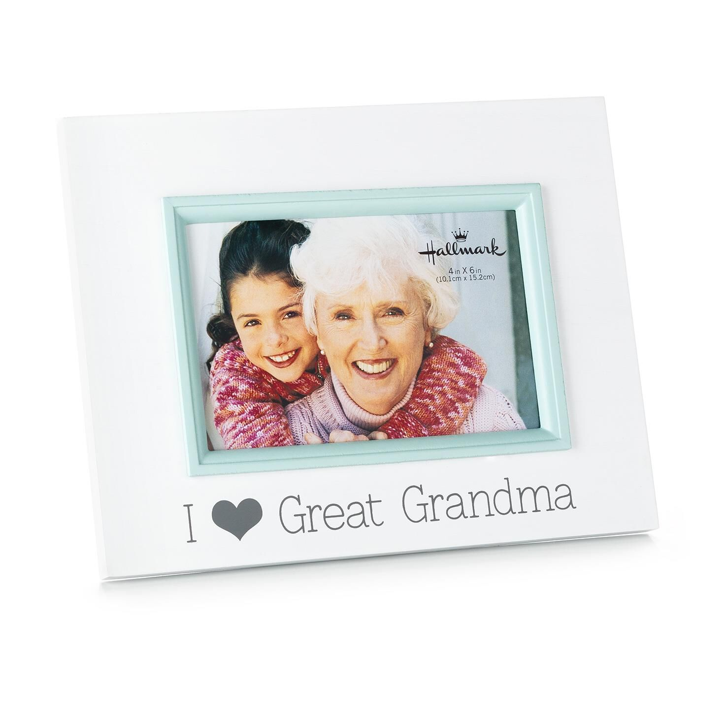i love great grandma wood malden picture frame 4x6 picture frames hallmark