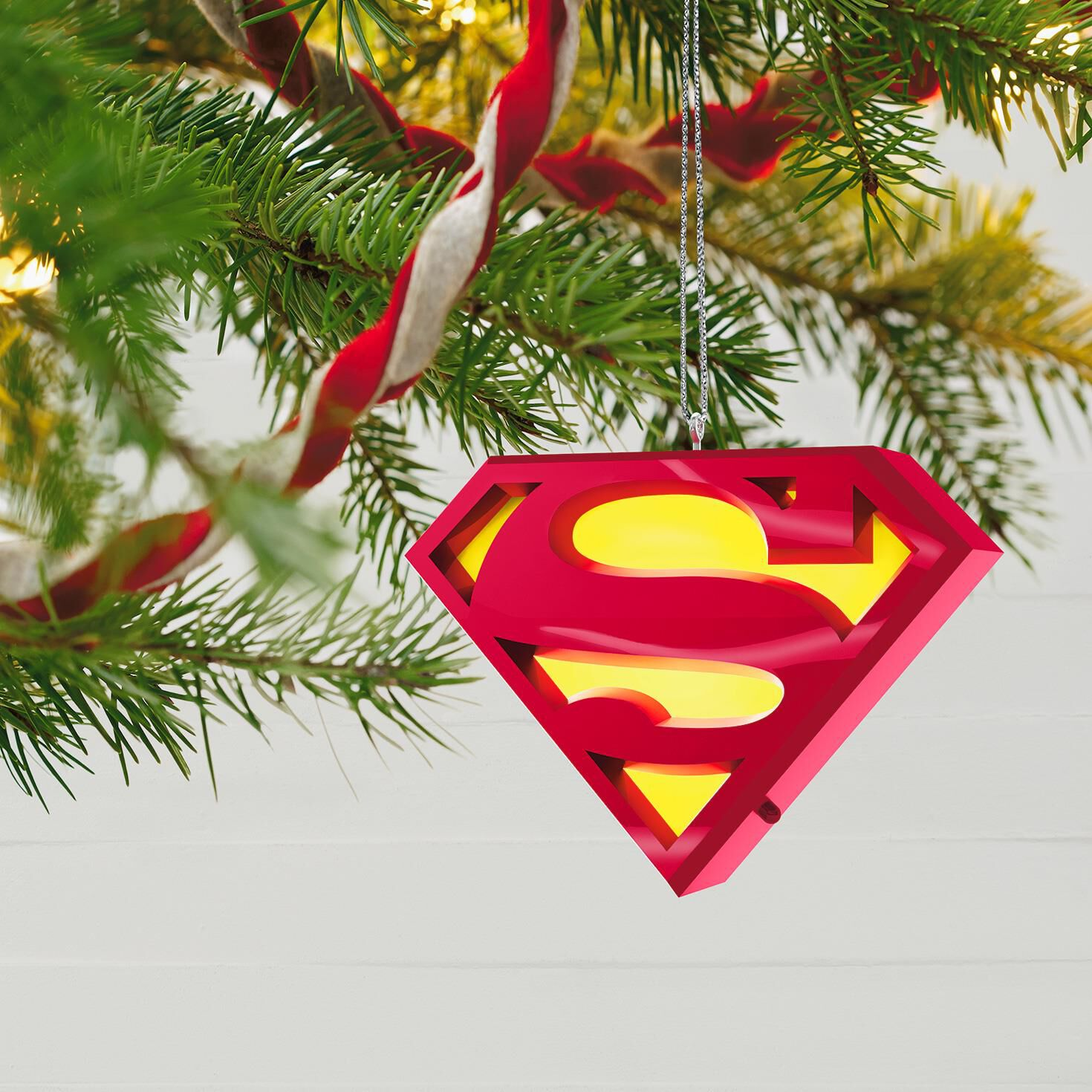 SUPERMAN™ A Symbol of Hope Musical Ornament With Light - Keepsake ...