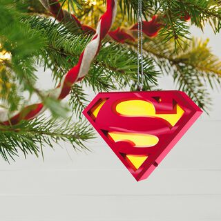 SUPERMAN™ A Symbol of Hope Musical Ornament With Light,