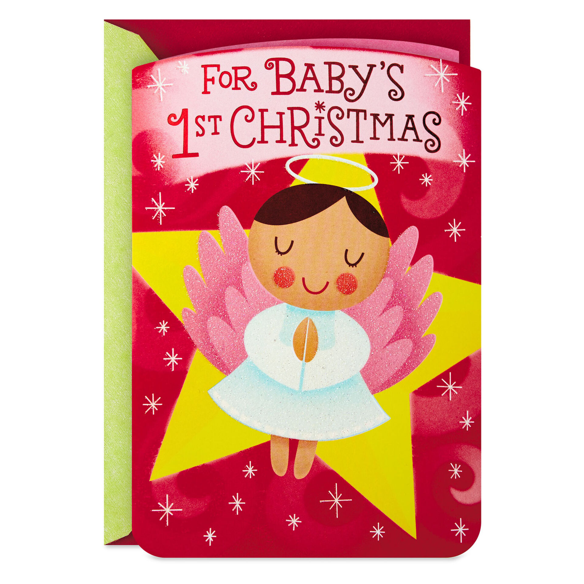 20 Piece Christmas Card Noise Gold Angel