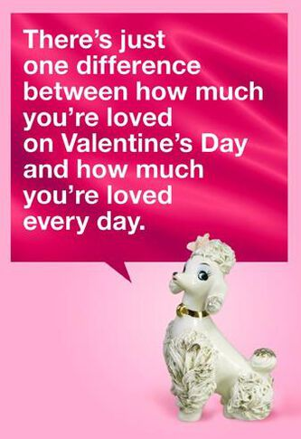 Card Is Gift Funny Valentines Day Card  Greeting Cards  Hallmark