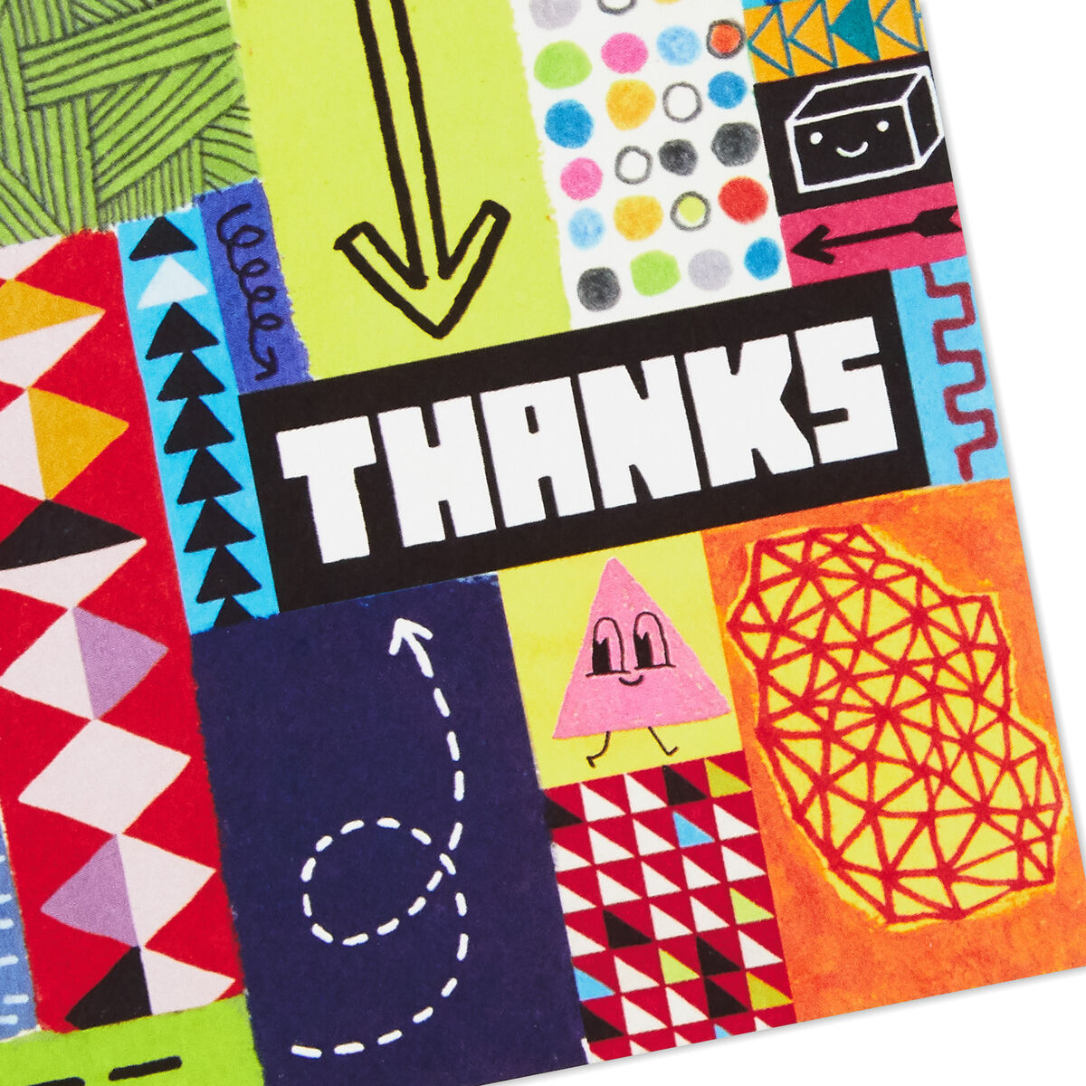 good mail assorted thankyou cards box of 12  boxed