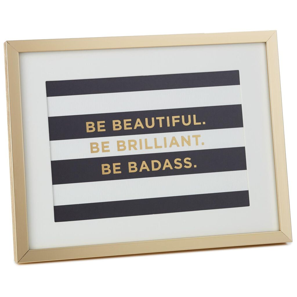 Be Beautiful Framed Print - Framed Art & Prints - Hallmark