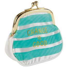 Change Is Good Coin Purse, , large