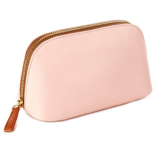 2302ffd02a5 Mark   Hall Blush Cosmetic Case