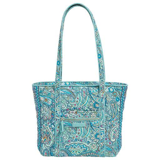 0d5f107405ec Vera Bradley Iconic Small Tote Bag in Daisy Dot Paisley