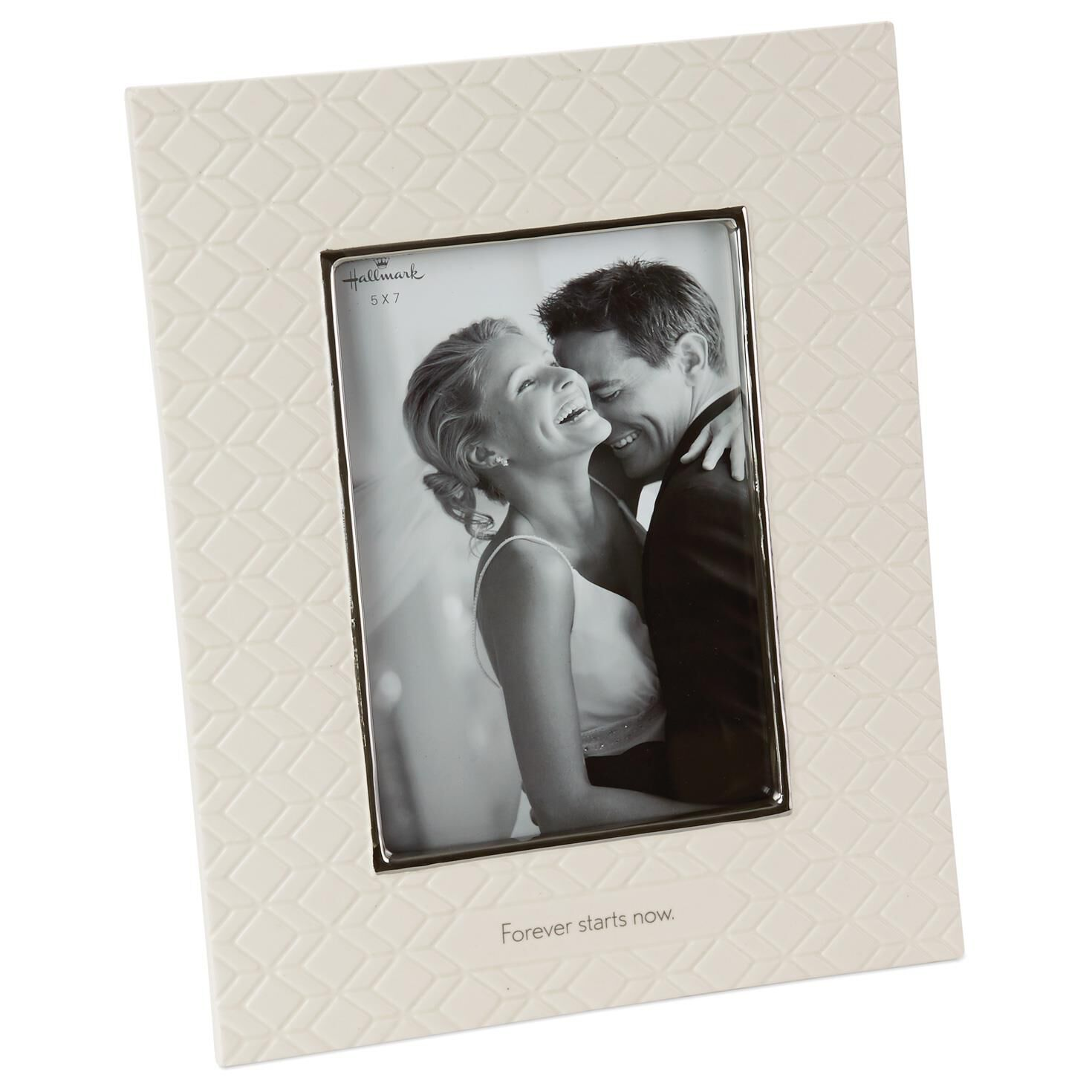 forever starts now wedding picture frame 5x7