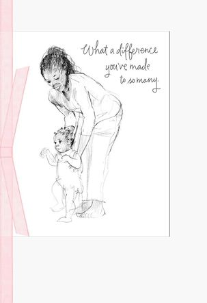 You've Made a Difference Mother's Day Card