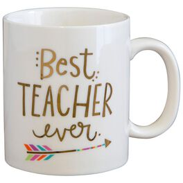 Natural Life Best Teacher Ever Mug, , large