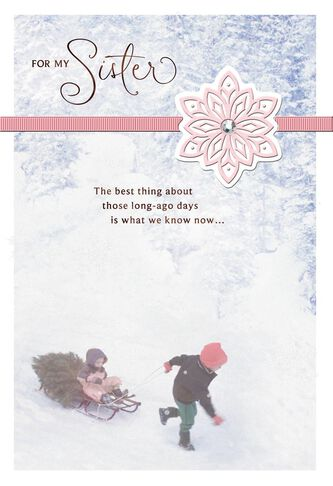 Youre my forever friend sister christmas card greeting cards youre my forever friend sister christmas card bookmarktalkfo Gallery