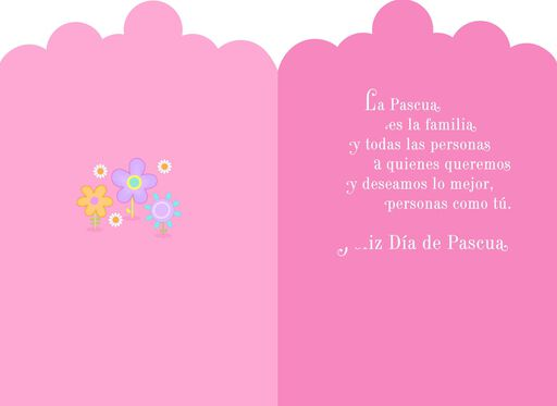 Sweet Moments Spanish-Language Easter Card,